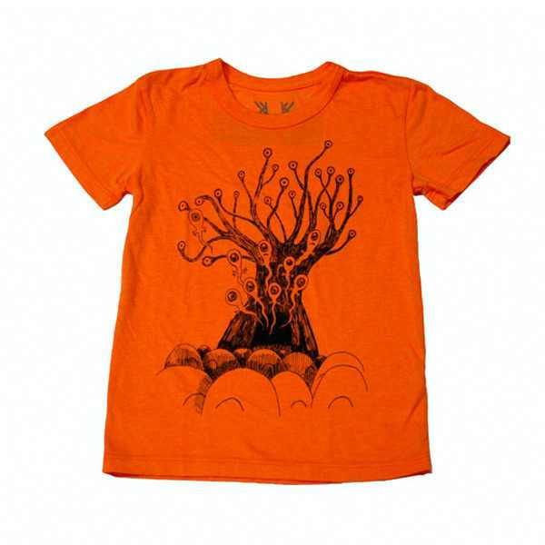 ORANGE 'REPLACEMENT TREE' KIDS TEE