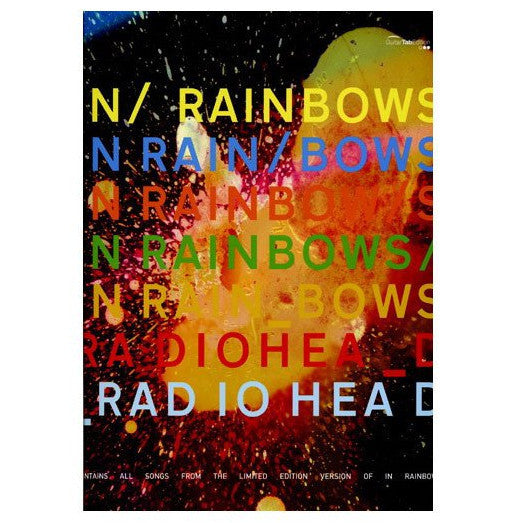 In Rainbows Discbox Edition Songbook