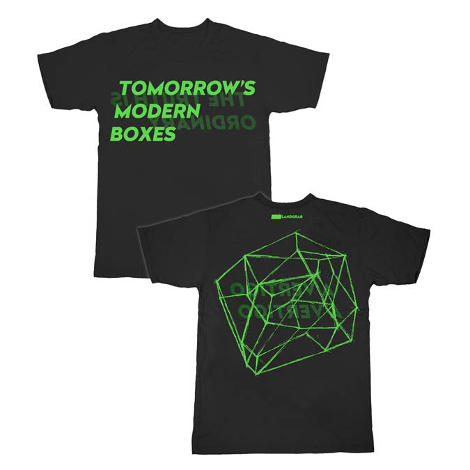 TOMORROWS MODERN BOXES - BLACK T-SHIRT