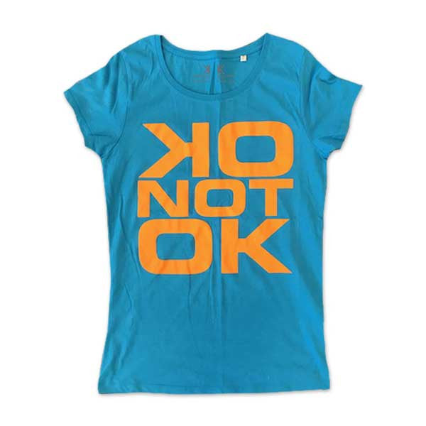 OK NOT OK 2017 AZUR GIRLS T-SHIRT