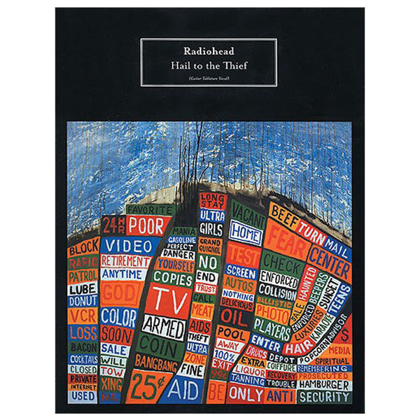 Radiohead The Acoustic Guitar Songbook Songbooks Waste Us
