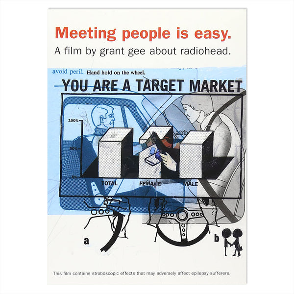 MEETING PEOPLE IS EASY (PAL VHS TAPE)