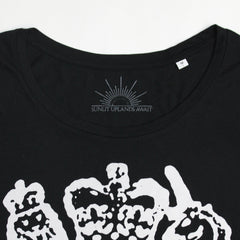 THE LIBRARIAN BLACK T-SHIRT