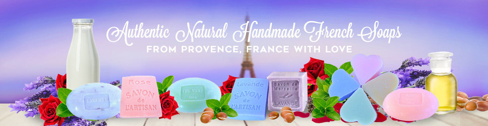 World's Premium Handmade Natural Soaps from France