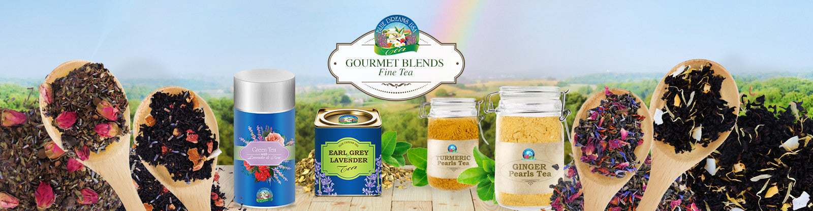 Tea - Organic Gourmet Blends of Tea
