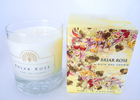 BDR-AR - Rose - Briar Rose Soy Candle - Blue Dreams USA Boutique