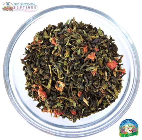 BDT-TEA - Organic Minty Strawberry Tea - Blue Dreams USA Boutique