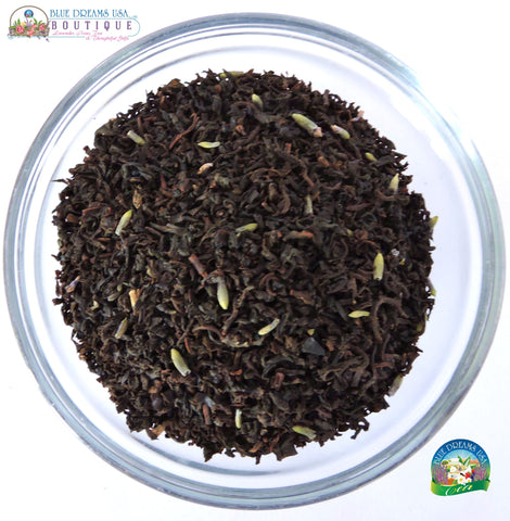 BDT-TEA - Organic Lavender Earl Grey Tea - Blue Dreams USA Boutique