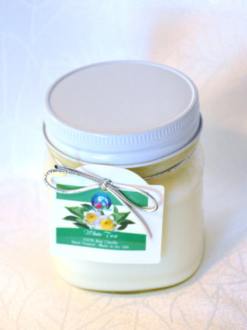 BDR-AR-White Tea Candle