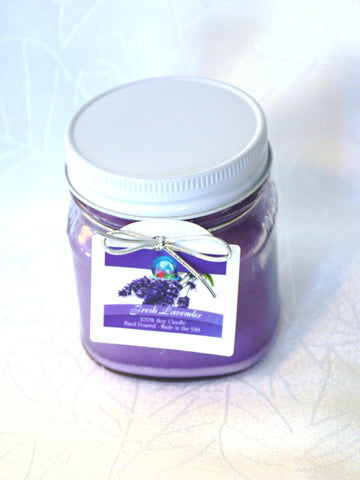 BDR-AR-Fresh Lavender Candle - Blue Dreams USA Boutique