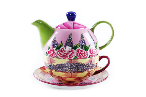 BDT-TTM - Tea Set for One - Rory Rose - Blue Dreams USA Boutique