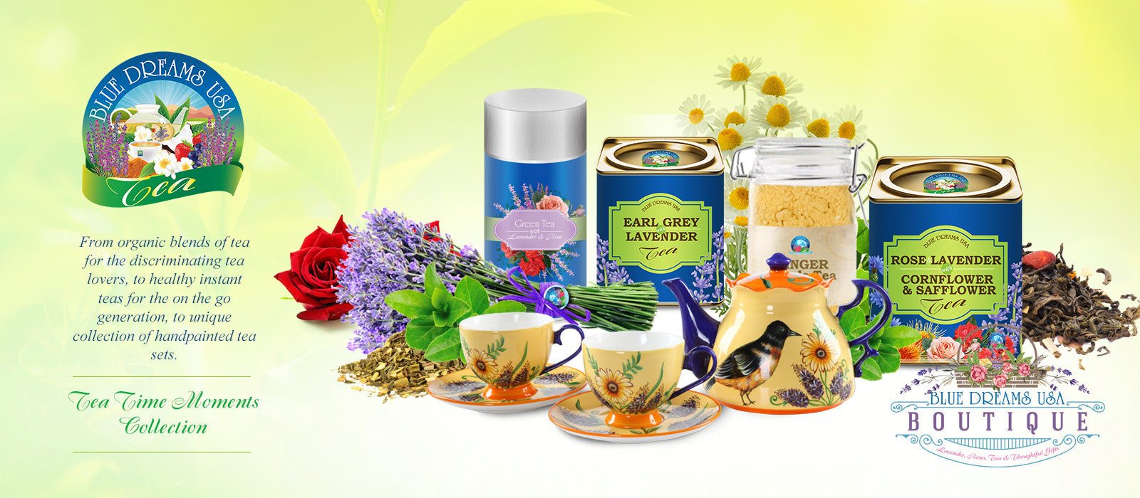Tea Time Moments Collection