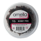 1lb, Bronze, Bobby Pins, Tub