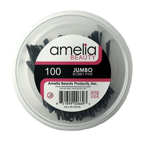 100, Black, Jumbo Pins, Tub
