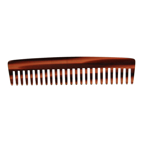 6in Roots Cellulose Acetate Wide Tooth Styling Comb - Clearance