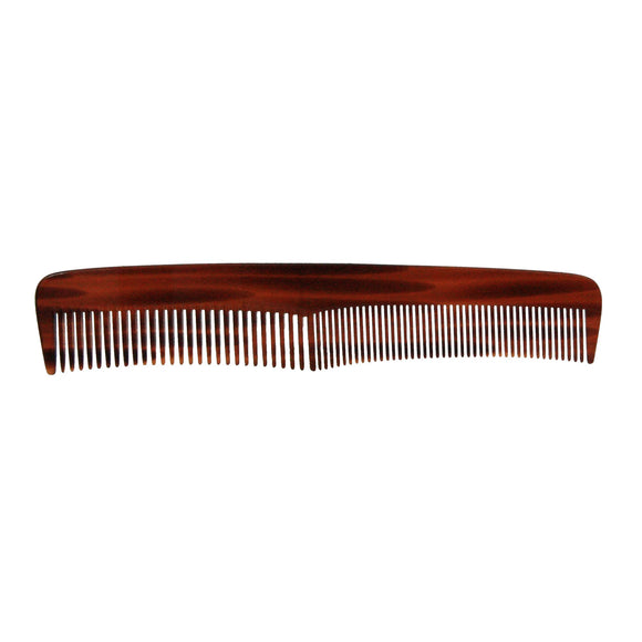 7in Cellulose Acetate Contoured Styling Comb - Clearance