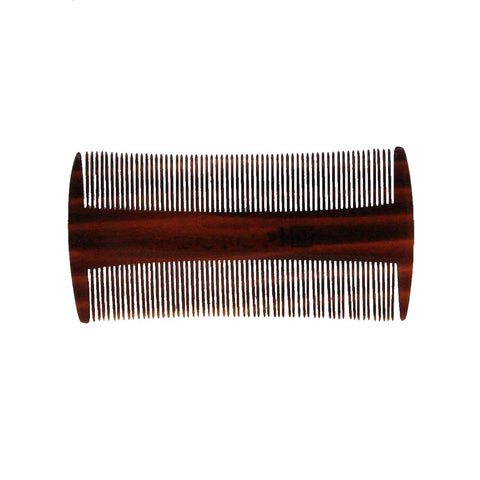 3.5in Roots Cellulose Acetate Lice Beard Mustache Comb - Clearance