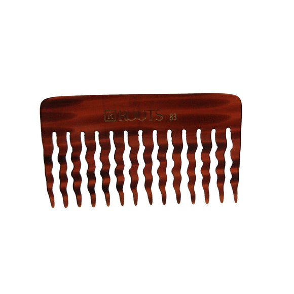 4.25in Roots 83 Cellulose Acetate Wide Tooth Rake Comb - Clearance