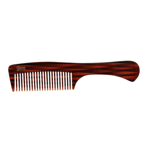 8.5in Roots/Ace Cellulose Acetate Handle Comb - Clearance