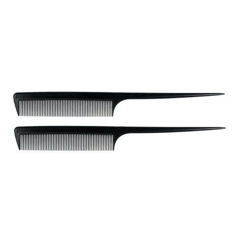 8.5in Rat Tail Carbon Comb