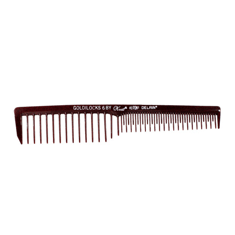 7in, Delrin Plastic, Volume/Space Comb - CLOSEOUT, LIMITED STOCK AVAILABLE