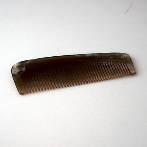4in Ox Horn Beard/Mustache Comb - CLOSEOUT, LIMITED STOCK AVAILABLE