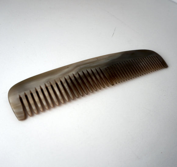 8in Horn Styling Comb  - CLOSEOUT, LIMITED STOCK AVAILABLE