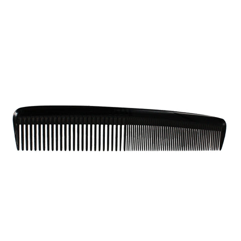 8in, Pegasus 609, Hard Rubber Heavy Styling Comb with Inch Marks