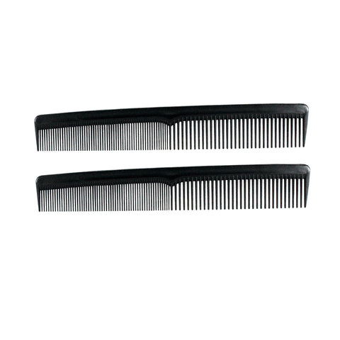 7in Plastic Styling Comb (2 Pack)