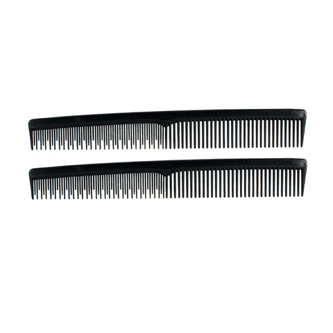 7in Plastic Styling Tease Comb (2 Pack)
