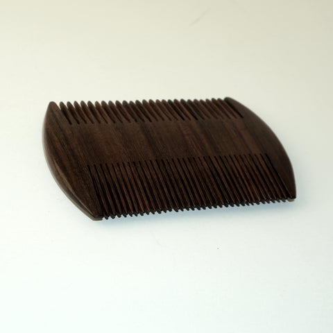 4in Rose Wood Beard/Mustache Comb  - CLOSEOUT, LIMITED STOCK AVAILABLE
