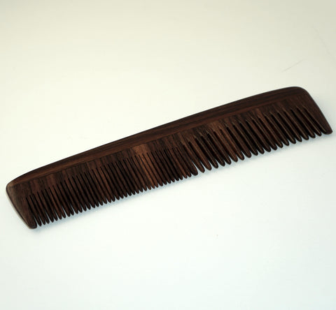 8in Rose Wood Styling Comb - CLOSEOUT, LIMITED STOCK AVAILABLE