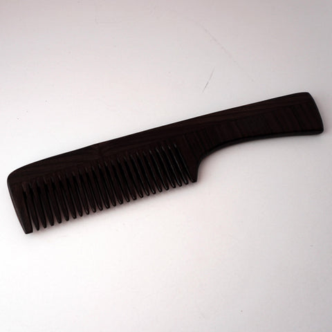 9in Rose Wood Handle Comb