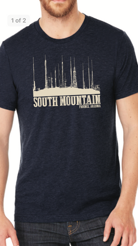 Navy Blue South Mountain Towers T-shirt