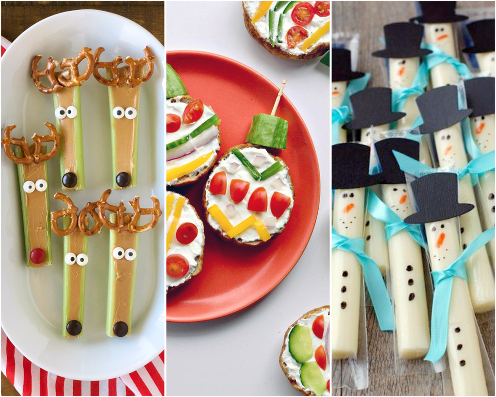 9 Healthy Holiday Snacks to Make With Your Kids