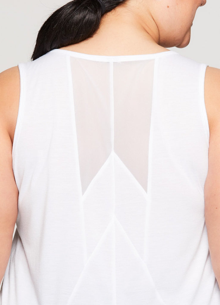 Plus Studio Meshy Relaxed Tank