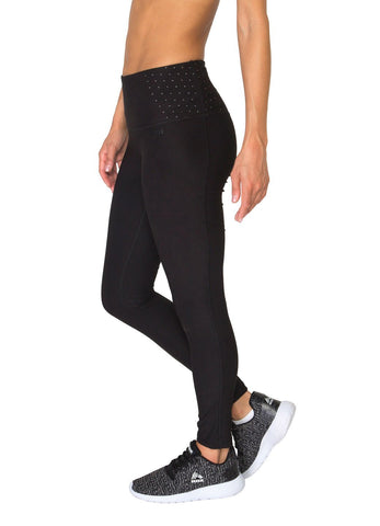 2ef1aed9a8eb0 Body Contouring High Waisted Tummy Control Performance Leggings