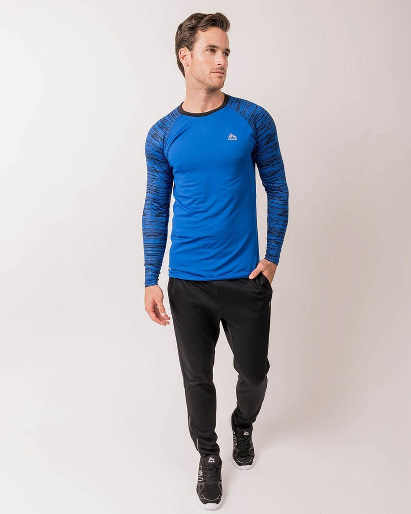 Men's Lightweight Fitted Compression Long Sleeve Shirt