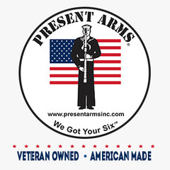 Present Arms is Veteran Owned and American Made