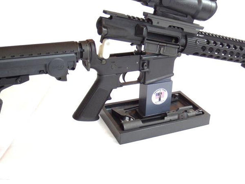 SP-2/MP-AR15 Kit:  Large Sentinel Plate with AR15 Magazine Post