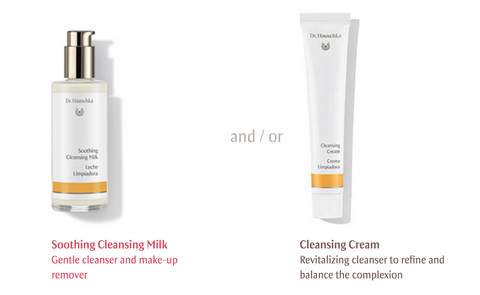 Dr. Hauschka Cleansing Milk and Cleansing Cream