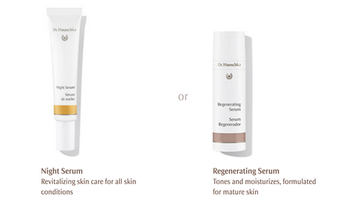 Dr. Hauschka Night Serum and Regenerating Night Serum