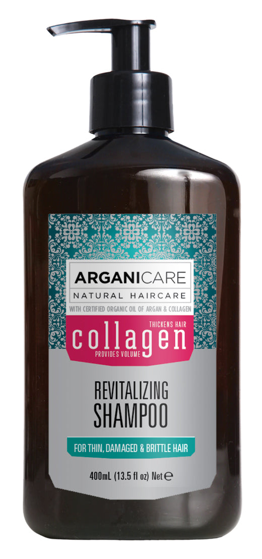Arganicare Collagen Revitalizing Shampoo 400ml