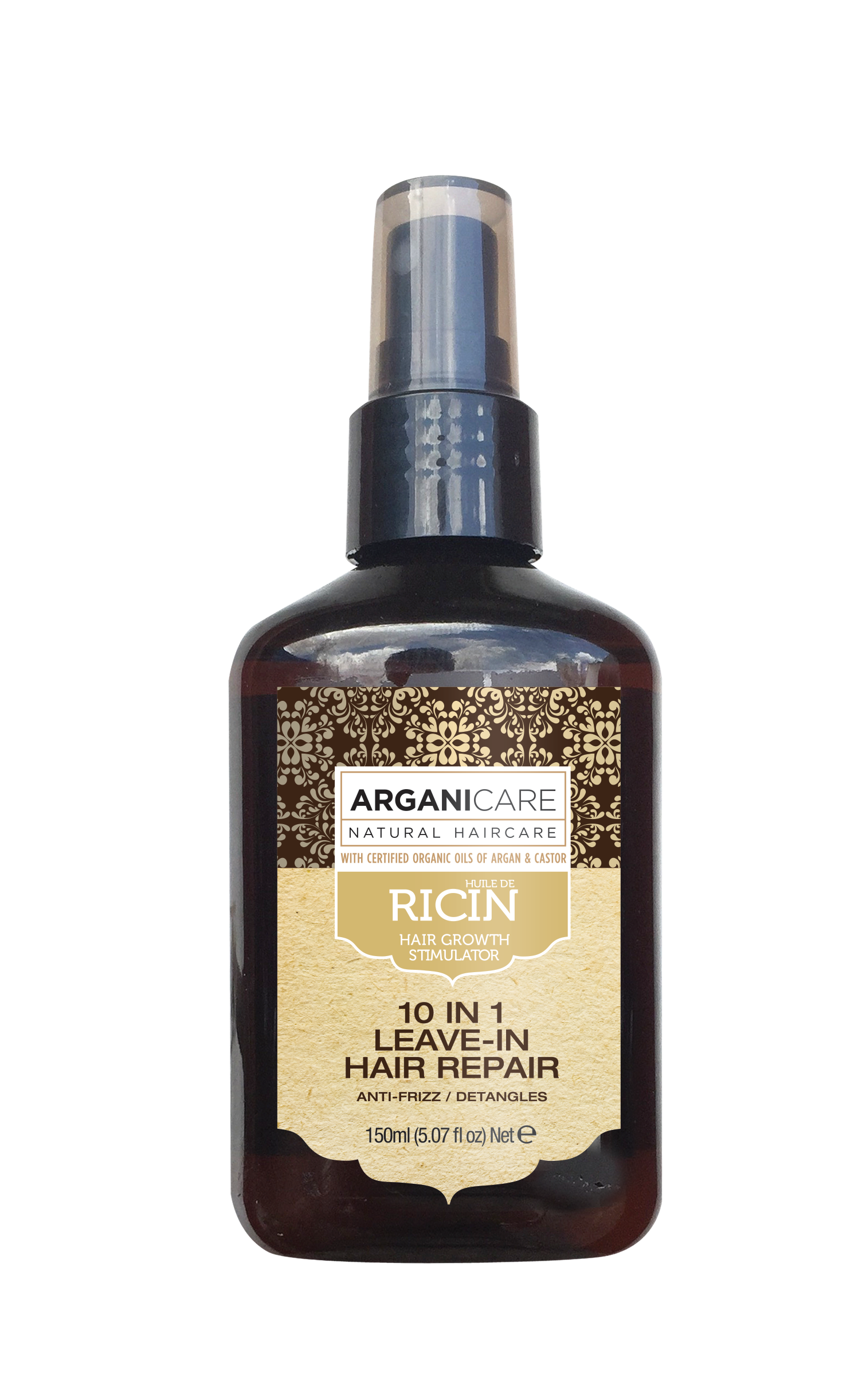 Arganicare Leave-in Hair Repair Spray with Argan and Castor Oil 150ml