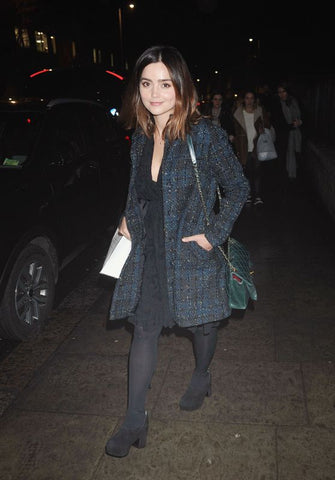 Jenna Coleman in tights