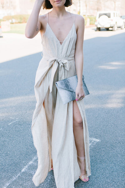 Adore You Linen Jumpsuit
