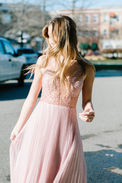 The Belle Tulle Beaded Gown