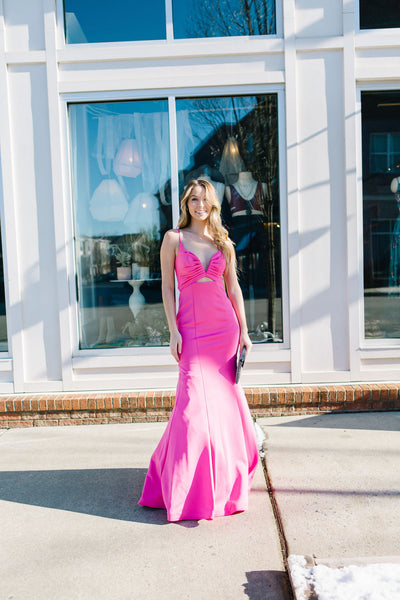 The Barbie Cutout Mermaid Gown