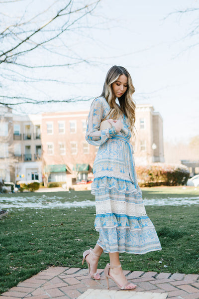 China Doll Midi Dress