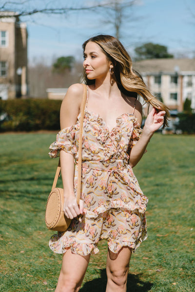 Spellbound Floral Dress